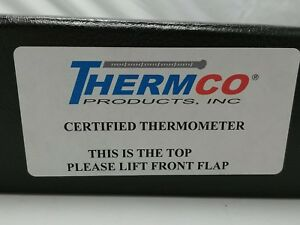 Thermco Certified Thermometer