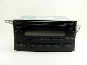 2004 2008 Toyota Matrix Radio Cd Player Stereo Oem Factory Sku 024oem
