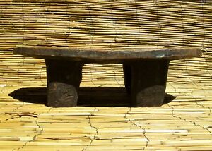 African Senufo Stool From The Ivory Coast 6 1 2 Tall