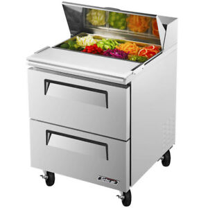 Turbo Air Tst 28sd d2 27 1 2 2 Drawer Refrigerated Sandwich Prep Table