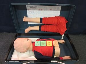 Laerdal Resusci Junior Cpr Training Manikin First Aid Child Patient Simulator a
