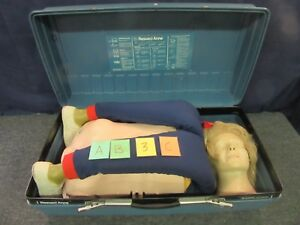 Laerdal Resusci Anne Cpr Training Manikin First Aid Adult Patient Simulator c