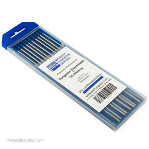 600 Pcs 60 Pack Tig Welding Tungsten Electrodes 2 Lanthanated 3 32 X 7 Blue