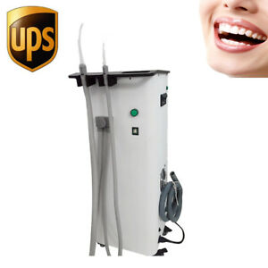 Portable Dental Suction Unit Medical High Vacuum Pump 2800r min Dentist Clinic