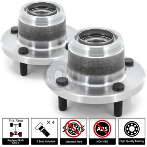 2x 2000 2009 Ford Focus Rear Wheel Hub Stud W Rear Disc Non Abs Non Svt Only