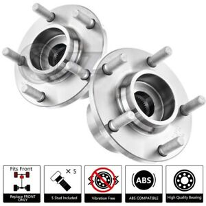 2x New 513211 Fit 2004 2005 Mazda 3 for Front Wheel Hub Bearing Oe Replacement