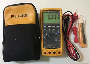 Fluke 789 Process Meter With Leads storage Case And More Sn 98550004 Tp 217255