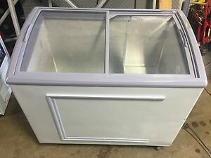 Commercial Ice Cream Chest Freezer Restaurant Bakery