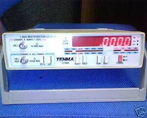 Tenma 72 5000 1 3 Ghz Multifunction Counter