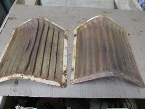 2 Case Tractor Grill Screens Part G14057 16 Tall Fits 500 600 B