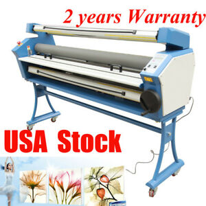 Usa Upgraded 55 Entry Level Full auto Heat Assisted Wide Format Cold Laminator
