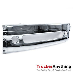 2001 2017 Freightliner Columbia Replacement Front Center Chrome Bumper Cover