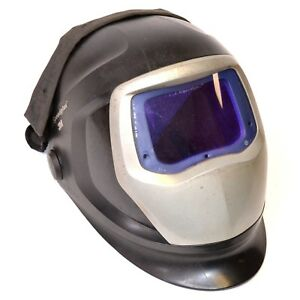 3m Speedglas 9100 Auto Darkening Welding Hood Helmet W Side Windows 9100xx