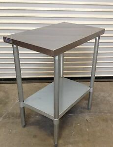 New 24 X 24 Stainless Steel Work Table Nsf 1140 Food Prep Commercial Restaurant