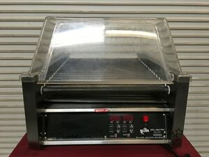 45 Hot Dog Grill Roller Star 45 Sce 6634 Commercial Tabletop Rolling Cooker Ul