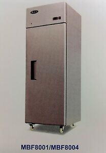 New 1 Door Reach In Cooler Atosa Mbf8004 2210 Commercial Refrigerator Nsf