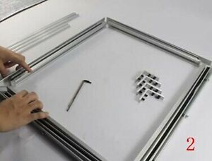 New Screen Self tensioning Aluminum Frame Screen Frame Without Glue Stretcher Ca