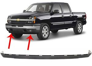 Replacement Front Bumper Air Dam Valance For 2003 2006 Chevrolet Silverado New
