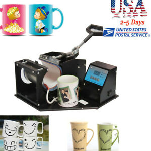 Upgraded Transfer Sublimation Cup Coffee Mug Heat Press Printing Machine Digital