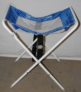Koala Kare Kb115 Blue white Infant Seat Kradle Restaurant Table Carseat Holder