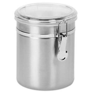 Office Settings Stainless Steel Canisters Osissc0471