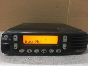 Kenwood Tk 8180 k Uhf Mobile Radio 450 520mhz