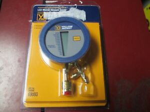 New Yellow Jacket Lcd Micron Vacuum Gauge 69080