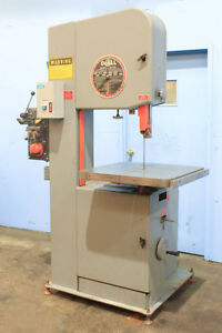 20 Thrt 13 H Doall 2013v Vertical Band Saw Vari speed 1 Blade tilt Tbl Bla
