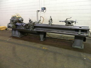 16 Swg 126 Cc Monarch 14c Engine Lathe Taper 3 jaw Sony Dro Steady Rest th