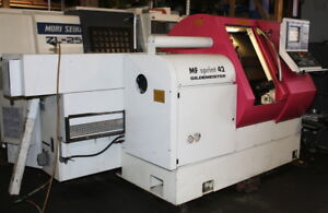 2000 Gildemeister Mf Sprint 42 Multi axis Cnc Lathe W bar Feed Live Tooling