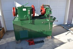 Used Oster 784 re 356 4 Pipe Threader 3 Hp W 2 Dies