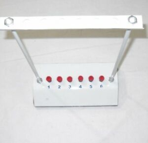 6 Tubes Esr Stand erythrocyte Sedimentation Rate Testing Stand Set Of 2 Pieces