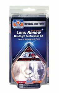 Permatex 09136 Lens Renew Headlight Restoration Kit