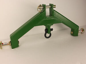 Three Point Hitch Green Black Orange Tractor Logging Skidder Attachment Usa New