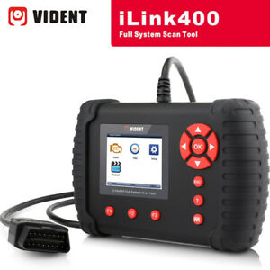 Vident Ilink400 Full System Dpf Abs Airbag Car Diagnostic Scanner Tool