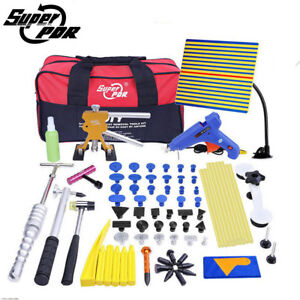80x Pdr Tools Auto Body Paintless Dent Repair Pulling Birdge Hail Damage Removal