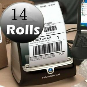 14 Rolls Thermal Shipping Labels 4x6 Compatible Dymo 4xl Labelwriter 1744907