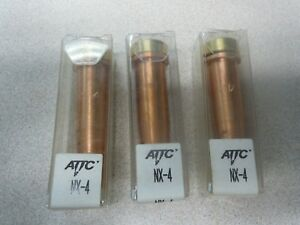 Lot Of 3 Attc Acetylene Torch Tip Nx 4