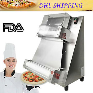 Automatic Pizza Dough Roller Sheeter Machine Pizza Making Machine Dhl Ship