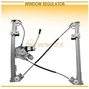 1pc New Front Right Power Window Regulator W Motor Fit 04 08 F150 Super Ext Cab