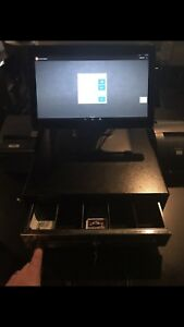Toast Restaurant Or Bar Pos System Point Of Sale 4 Computer Screens 1 Tablet