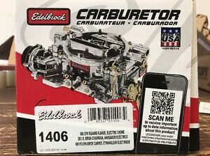 Brand New Edelbrock 1406 600cfm Carburetor