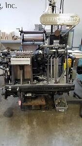 Heidelberg Windmill 10x15 Letterpress Platen Press