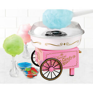 Vintage Collection Hard And Sugar Free Candy Cotton Candy Maker Clear Rim Guard