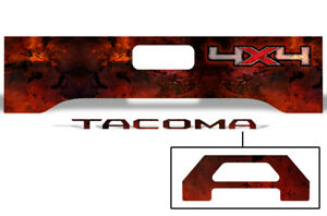 Toyota Tacoma Truck Bed Tailgate Graphic Wrap Sticker Insert Decals 16 17 Melt