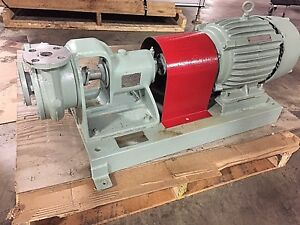 Worthington Centrifugal Pump Model D512 1 5 By 1 0 Inlet outlet