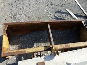8 Foot Box Blade With 3 Point Hitch