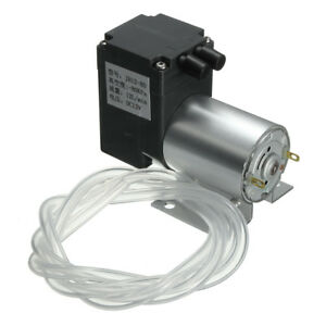 Dc 12v Mini Vacuum Pump Negative Pressure Suction Pump 12l min 120kpa W holder