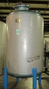 Howard Corporation 500 Gallon Stainless Steel Jacketed Reactor
