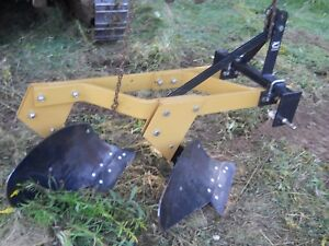 Mph214 3 Pt Rear Attach 2 Bottom Plow Category 1
